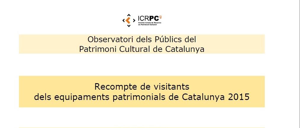 recompte-dels-visitants-dels-equipaments-patrimonials-de-catalunya-2015
