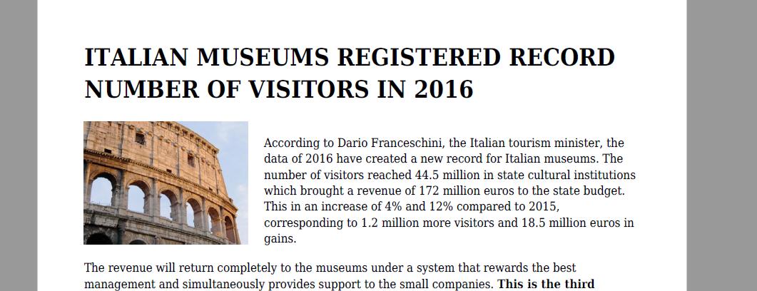 els-museus-italians-registren-un-nou-record-de-visitants-el-2016