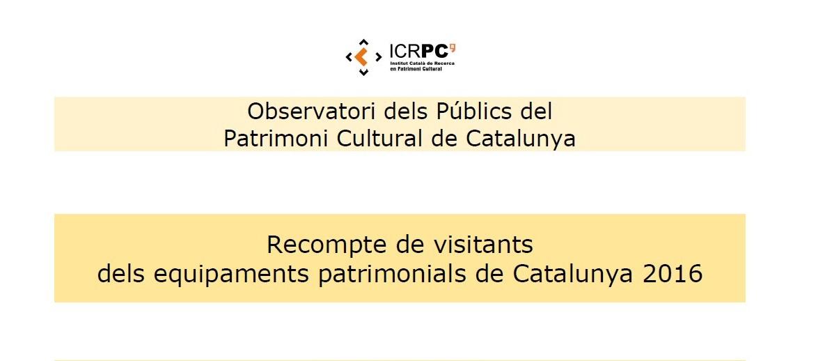recompte-dels-visitants-dels-equipaments-patrimonials-de-catalunya-2016