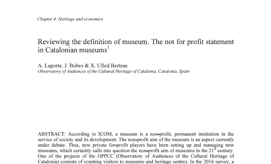 reviewing-the-definition-of-museum-the-non-for-profit-statement-in-cataloniana-museums
